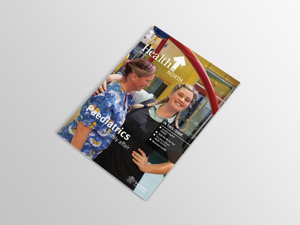 Magazine Design - Health Up North
